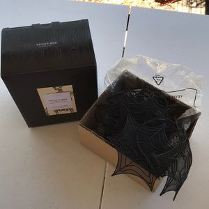 COPY - Pottery barn spider web string lights